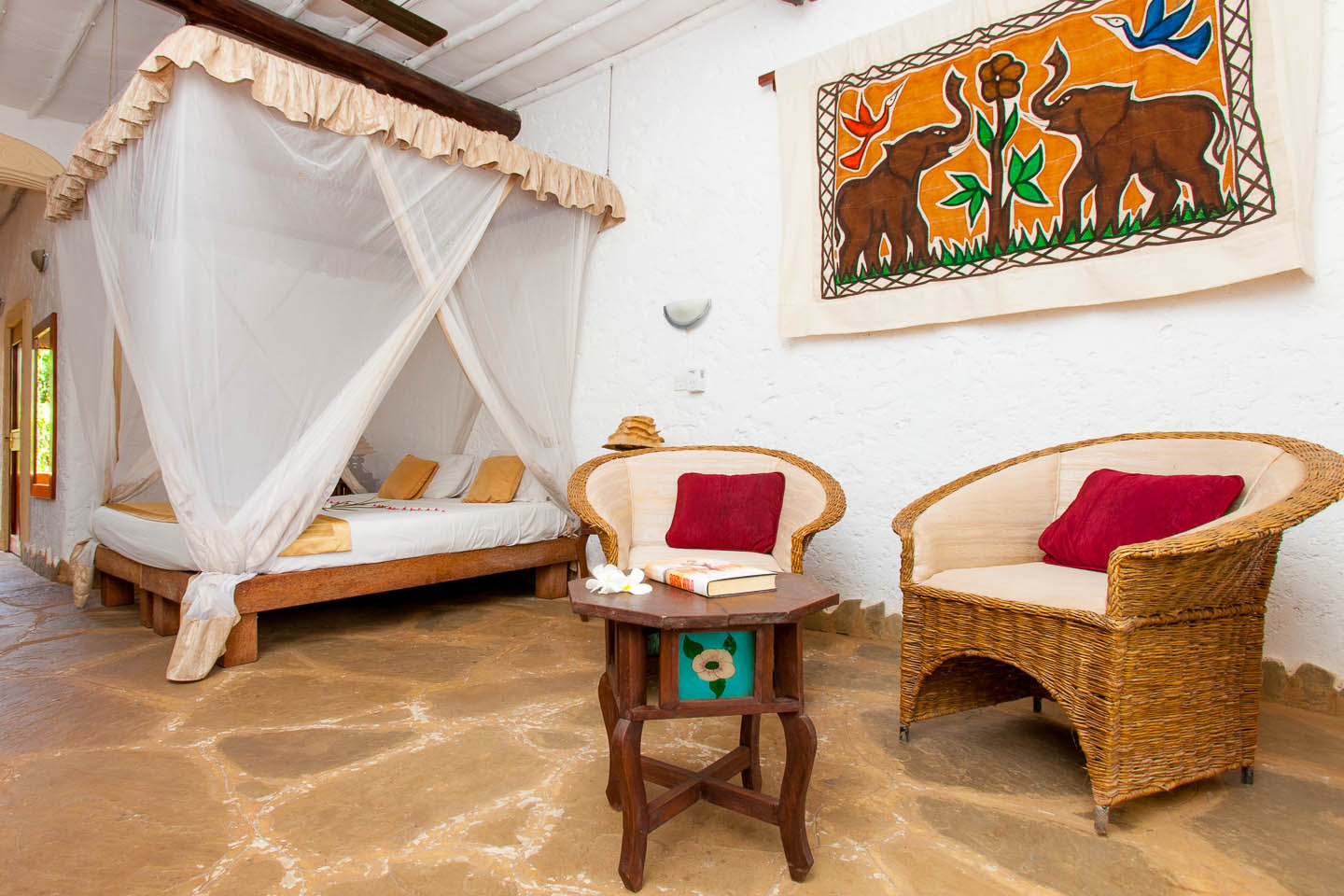 Chale Island Rooms